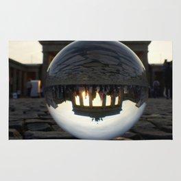 Brandenburg Gate, Berlin Germany / Glass Ball Photography Rug