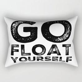 Go Float Yourself Rectangular Pillow