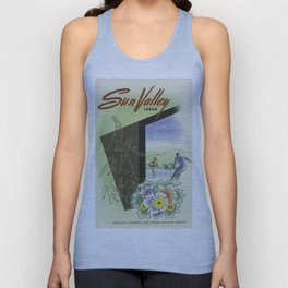 Vintage poster - Sun Valley, Idaho Unisex Tank Top