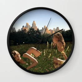 Peaceful place of mind Wall Clock