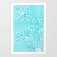 lace Art Prints featuring Lace by Shalisa Photography