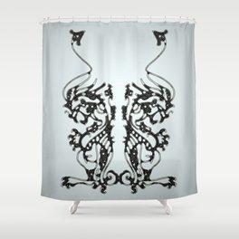 hieroglyphic 8 Shower Curtain
