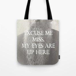 Beard Etiquette Tote Bag