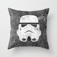 White Stormtrooper Throw Pillow