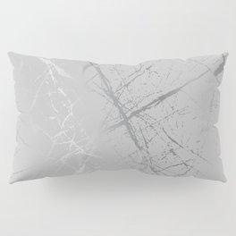 Silver Splatter 089 Pillow Sham