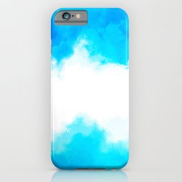 Beautiful blue shiny day iPhone Case