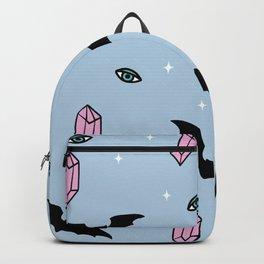 bats and crystals Backpack