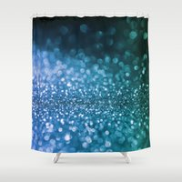 bisexual Shower Curtains featuring Foam on the sea by Better HOME