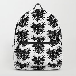 phoenix liberate crest x typography Backpack