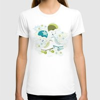 roller derby T-shirts featuring Roller Derby Rumble by Wild Notions