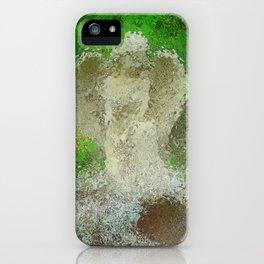 Angel In The Rain iPhone Case