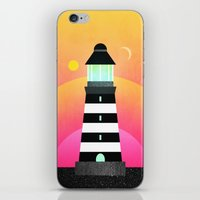 lighthouse iPhone & iPod Skins featuring Lighthouse by Elisabeth Fredriksson