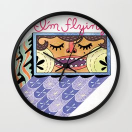 I'm Flying! Wall Clock