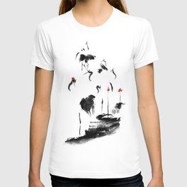 7 Cranes T-shirt