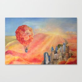 Hot Air Bloom (LARGER SIZES) Canvas Print