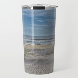 Sand Swirls Travel Mug