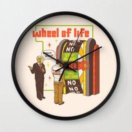 Wheel Of Life Wall Clock