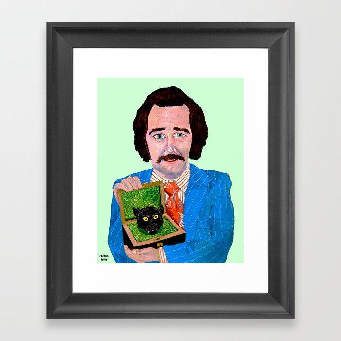 SEX PANTHER Framed Art Print
