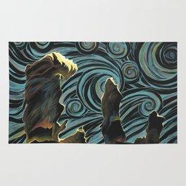 Pillars of Creation/Starry Night Rug