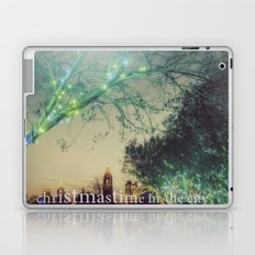 Christmastime In The City Laptop & iPad Skin