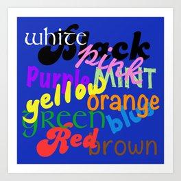 Colour Complement Art Print