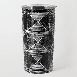 Chequers I Black Travel Mug