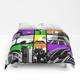 Windows on Wellington Comforters
