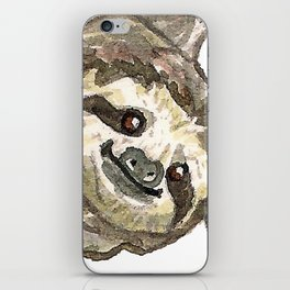Sloth with Bunting #1 iPhone Skin