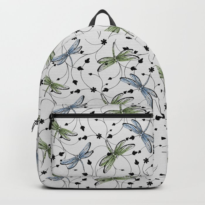 Dragonflies in the garden Backpack