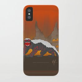 Rejected Kaiju #1 (Honey Badger) iPhone Case