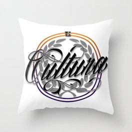 CULTURA Throw Pillow