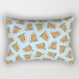 Gingerbread House Pattern - Christmas Day Rectangular Pillow