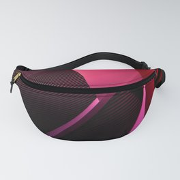 Urban Beauty in Pink Fanny Pack