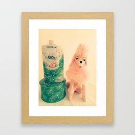 Poodle Parlor Framed Art Print