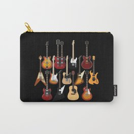 Too Many Guitars! Carry-All Pouch
