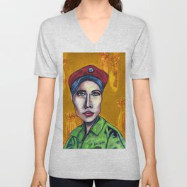 Lulu (Young Lords Party Series) Unisex V-Neck