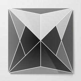 Mosaic tile Metal Print