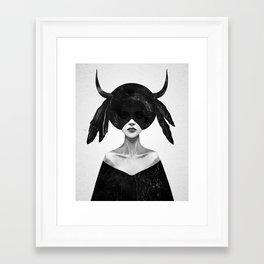 The Mound II (Hallway Crop) Framed Art Print