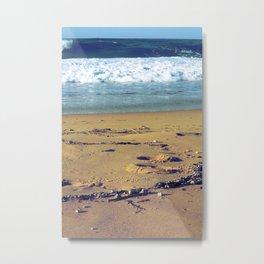 Summer sand Metal Print