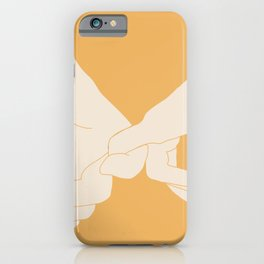 Holding hands 3 iPhone Case