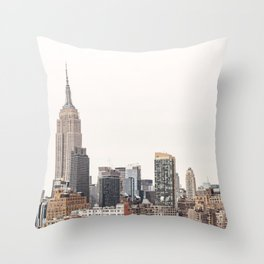 New York City View 2 Throw Pillow
