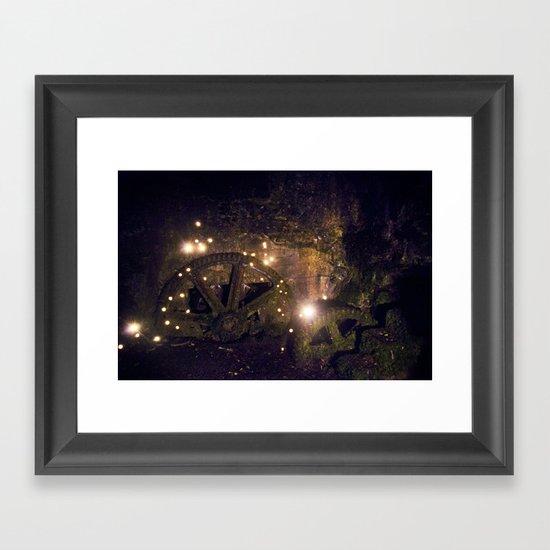 Firefly Inside Framed Art Print