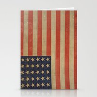 flag Stationery Cards featuring Flag by ART SHOP