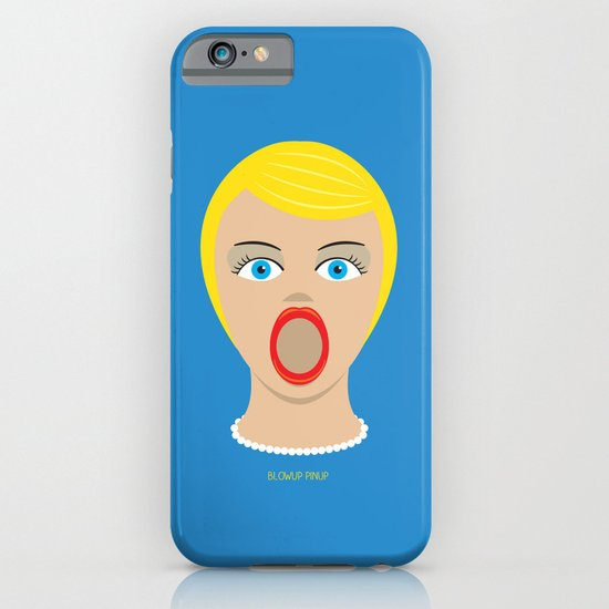 Blow Up Pin Up iPhone & iPod Case