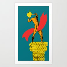 Fruit is the Champion Art Print