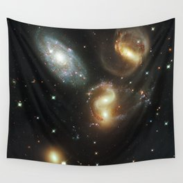 Galactic wreckage Wall Tapestry