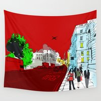 general Wall Tapestries featuring General Public by bivisual