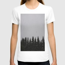 snowy day T-shirt