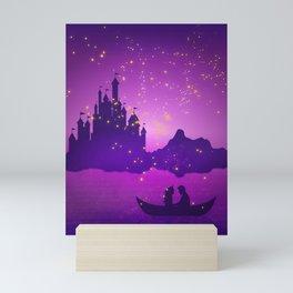 Castle with Lanterns Mini Art Print