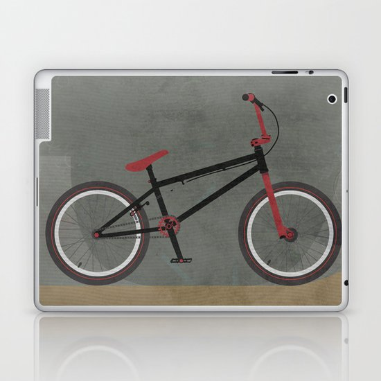 BMX Bike Laptop & iPad Skin